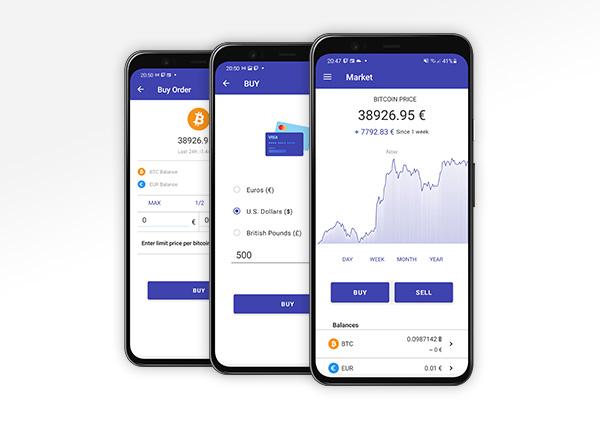 App mobile Paymium v2.9